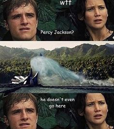 Percy Jackson | The Hunger Games
