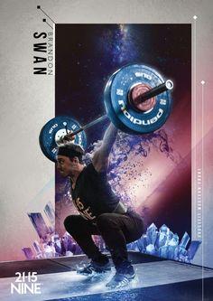 21.15.NINE CrossFit Athlete Posters on Behance