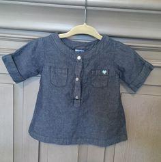 Check out this listing on Kidizen: Carters Jean Shirt via @kidizen #shopkidizen
