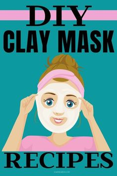 Learn to make DIY clay masks for a spa quality facial at home to save money with these easy DIY clay mask recipes. Clay masks exfoliate and rejuvenate skin as part of your natural skin care routine for glowing skin. Learn about the different types of clay, clay mask benefits and how to use clay to create a mask for your skin type to exfoliate, brighten, and absorb toxins and impurities from your skin. DIY facial masks are easy to make and customize for your skin care needs for face care. Homemade Cleaning Products, Homemade Beauty Products, Face Care, Skin Care, Body Care, Best Skincare Products, Bath Products, Health And Beauty Tips, Beauty Guide