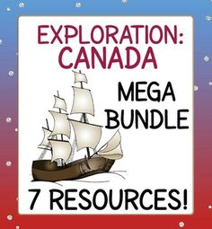Bundle of 7 resources related to European exploration to and in Canada.  From task cards to graphic organizers to informational texts, a great variety!