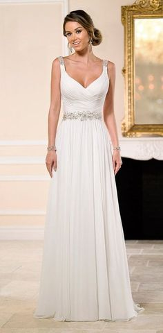 I absolutely love that chiffon is such a light, airy fabric for wedding dresses. Whether you're planning a destination wedding on the beach or an intimate garden celebration, chiffon can be used tocreate a less formal and comfortable bridal style. See below for more great chiffon wedding dress ideas that we love! Featured Dress: Stone […]