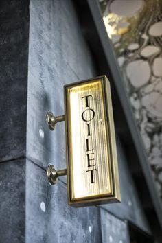 Signage - Henry Deane Loungebar in Hotel Palisade Sydney Australia Hotel Signage, Shop Signage, Retail Signage, Wayfinding Signage, Signage Design, Logo Design, Restaurant Signage, Hotel Branding, Design Design