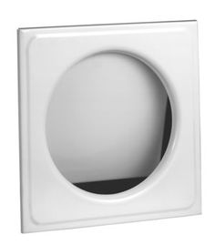 I've got to order one of these powder coated steel laundry shoot door - Spring-hinged, push-in laundry chute door with inner rubber guards for quiet closing.
