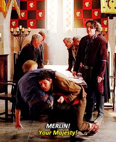 "Merlin and Arthur are having a fondle on the floor, Agravaine looking at them like ""Here they go again!"" and the court advisors are just minding their own business like this kind of thing happens every day. **merlin can actually take down arthur Merlin Memes, Merlin Funny, Merlin Quotes, Sherlock Quotes, Merlin Fandom, Merlin Colin Morgan, Merlin And Arthur, Funny Memes, Hilarious"
