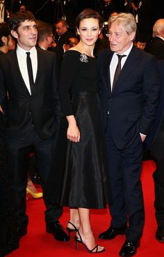 Jasmine Trinca (L-R) Actor Libero De Rienzo, actress Jasmine Trinca and actor Carlo Cecchi attend the Premiere of Miele (A Touch of Sin) during The 66th Annual Cannes Film Festival at Palais des Festivals on May 17, 2013 in Cannes, France.
