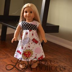 Sewing: 18' Doll Everyday Playdress free pattern