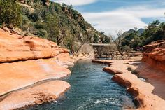 The Ultimate Guide to Sedona's Swimming Holes | Slide Rock State Park Arizona Road Trip, Arizona Travel, Sedona Arizona, Phoenix Arizona, Vacation Trips, Vacation Spots, Vacations, San Myshuno, Places To Travel