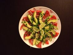 Delicious avocado salad yum!!