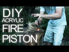Survival Gear: How To Make a Fire Piston.