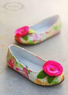 For kids - LOVE Joyfolie!!  My favorite!    Joyfolie Mona Floral Watercolor Dress Shoe