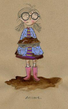 #nutmegcomp Mud Pies - this is totally Kara!