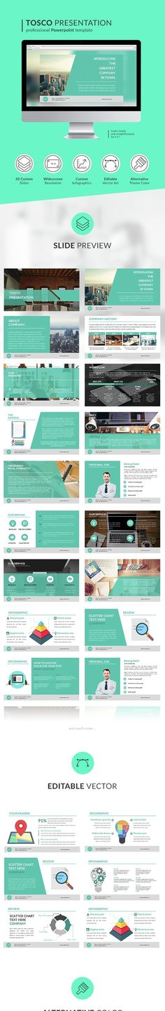 Daisy Powerpoint Template Pinterest Cleaning companies, Business