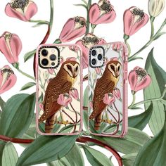 New iPhone and Samsung case design at my Casetify shop! . . . #fifikoussout #iphonecase #samsungcase #print #owl #pink #Illustrator #casetify Samsung Cases, Iphone Cases, New Iphone, Tech Accessories, Casetify, Illustrator, Owl, Pink, Shopping