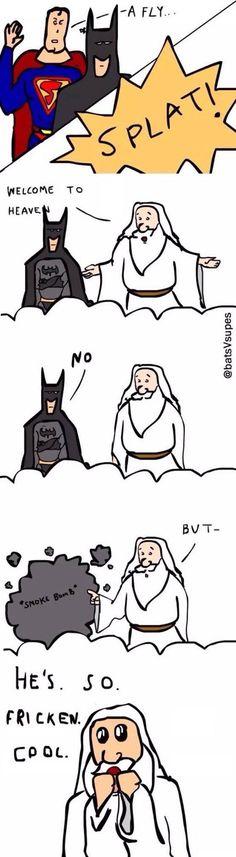 Batman Goes To Heaven