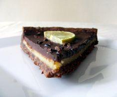 Tarte Choco, Citron vert et gingembre | Rêve de Gourmandises