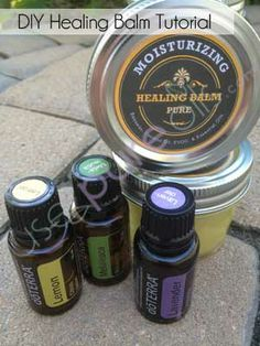 Make your own balms at home doTERRA... moisturizing, allergy, all purpose...