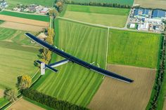 SOLAR-POWERED PLANE BEGINS ITS JOURNEY AROUND THE WORLD—It's an auspicious start, but a small step on a 20,000-mile journey.