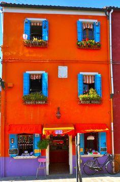 Burano, Italy, province of Venezia Veneto