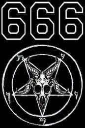 Baphomet 666 Graphic Hoodie by Shayneofthedead - Unisex Pullover Black - MEDIUM - Front Print - Pullover Satanic Tattoos, Satanic Art, Occult Symbols, Evil Art, Baphomet, Black Art, Black Metal, Skull Art, Macabre