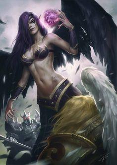 Morgana by Yin Yuming