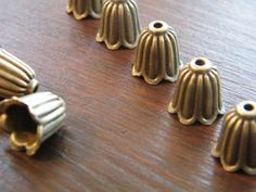 8 MOOSE charms bronzo antico tono BC4