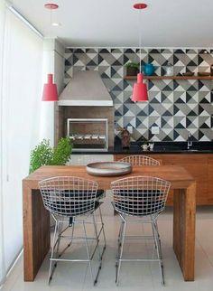 trendy kitchen backsplash patterns home Kitchen Backsplash Inspiration, Backsplash Ideas, Tile Design Pictures, Kitchen Interior, Kitchen Decor, Cuisines Design, Interiores Design, Home Kitchens, Kitchen Remodel