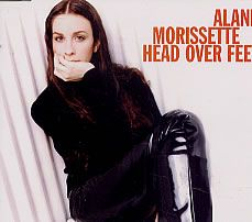 """For Sale - Alanis Morissette Head Over Feet Germany  CD single (CD5 / 5"""") - See this and 250,000 other rare & vintage vinyl records, singles, LPs & CDs at http://eil.com"""