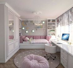 Teenage Girls Bedroom Ideas is part of Dream rooms - Every young girl dreams of a uniquely personal space to call her own, yet nailing down a durable search for a teenage girl's bedroom can be a particularly troublesome undertaking Cute Bedroom Ideas, Cute Room Decor, Awesome Bedrooms, Bedroom Themes, Cool Rooms, Trendy Bedroom, Girls Bed Room Ideas, Modern Bedroom, Girls Bedroom Decorating