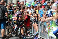 Tour de France 2015. Gap. Séance signatures pour l'allemand Simon Geschke, le héros de Pra-Loup.  © Photo Pat.Domeyne/Agence05-2015