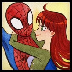 Spidey and Mary Jane #LBCC