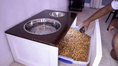 How to Build a Dog Feeding Station  - PopularMechanics.com
