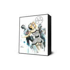 Zombie Love Mini Art Block, $27, now featured on Fab.