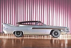1961 Chrysler TurboFlite - Powered by a CR2A, 140 hp, 375 ibf-ft, Gas Turbine Engine. Designed by Virgil M. Exner.