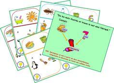 Construire un mot à partir des syllabes d'autres mots
