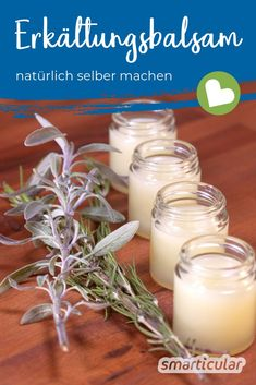 - Erkältungssalbe blitzschnell angerührt: preiswert, wirksam und hautfreundlich Cold ointments smell good and relieve discomfort. However, most are based on mineral oils. A natural alternative is quickly produced! Health Tips, Health And Wellness, Health Benefits, Sent Bon, Homemade Cosmetics, Natural Cosmetics, Smell Good, Natural Medicine, Health Remedies