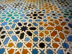 Stunning Spanish tile in Cordoba's Mosque