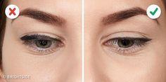 10 erreurs qui ruinent votre Winged Eyeliner How To Apply Eyeliner, Eyeliner Pen, Applying Eyeliner, Applying Makeup, Highlighter Makeup, Contour Makeup, Winged Liner, Hair Makeup, Beauty Makeup