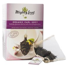Mighty Leaf Tea Whole Leaf Tea Pouches Organic Earl Grey 15Box ** Details can be found by clicking on the image. Note: It's an affiliate link to Amazon.