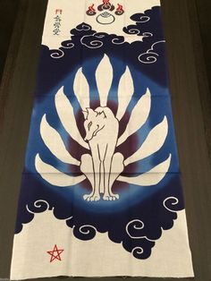 I need this for Kendo - but it's so expensive....Tenugui Japanese Towel Yokai Kitsune 九尾狐 Nine-tailed Fox Made in Japan Blue in Collectibles, Cultures & Ethnicities, Asian | eBay
