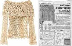 blusas crochet pinterest - Buscar con Google