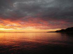Sunrise at Salmon Point - Sept. 2012