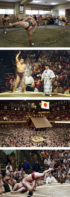 Training, Ritual, Arena, Wrestle...Life of a Sumo in Training