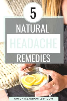 As a lifelong headache sufferer I hate taking medicine. These are the natural remedies I try first. From pressure points to cold compresses, you've got to try these headache relief ideas. Natural Headache Remedies, Natural Pain Relief, Cold Remedies, Sinus Relief, Migraine Relief, Whole Food Diet, Whole Food Recipes, Cold Medicine, Headache Medicine
