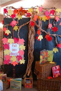 DONNA VAN CLEVE: Fall into Books!