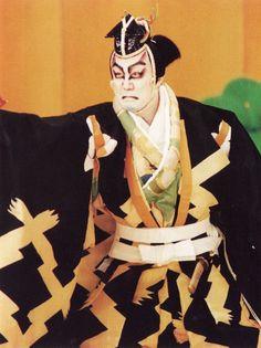 中村吉右衛門   one of my favorite kabuki actors