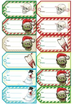 Zombies! Well Merry Christmas all!  Guess everyone is getting a touch of Halloween for Christmas this year:)
