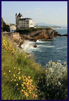Biarritz, France - This looks paintable!