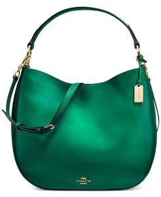 bf9a51febce1f0 COACH Nomad Hobo in Burnished Glovetanned Leather & Reviews - Handbags &  Accessories - Macy's