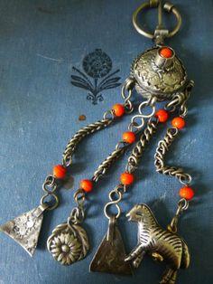 Fibule Berbere Ancienne Bijou EN Metal Argenté   eBay